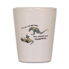 Unique Paleontology Shot Glass
