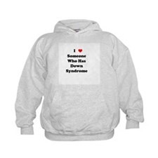 Down Syndrome Love Hoodie