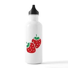 Sweet Strawberries Water Bottle