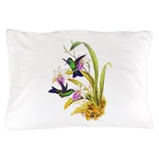 Hummingbirds Pillow Case