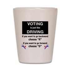 Cool 2008 election Shot Glass