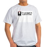 Father Of The Groom Ash Grey T-Shirt