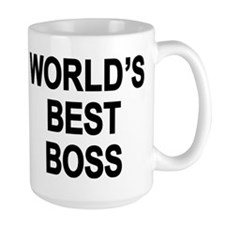 Cute Worlds best boss Mug