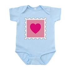 Postal Love Infant Bodysuit