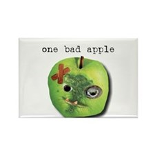 One Bad Apple Rectangle Magnet