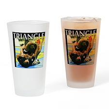 BJJ Triangle Choke Drinking Glass