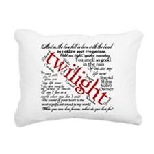 Twilight quotes Rectangular Canvas Pillow