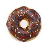 "Doughnut Lovers 3.5"" Button"