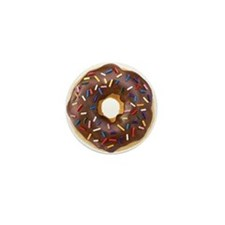 Doughnut Lovers Mini Button