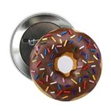 Doughnut Lovers 2.25&quot; Button (10 pack)