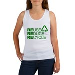 Reduce Reuse Reycle Women's Tank Top