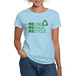 Reduce Reuse Reycle Women's Light T-Shirt