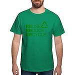 Reduce Reuse Reycle Dark T-Shirt