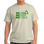 Reduce Reuse Reycle Light T-Shirt