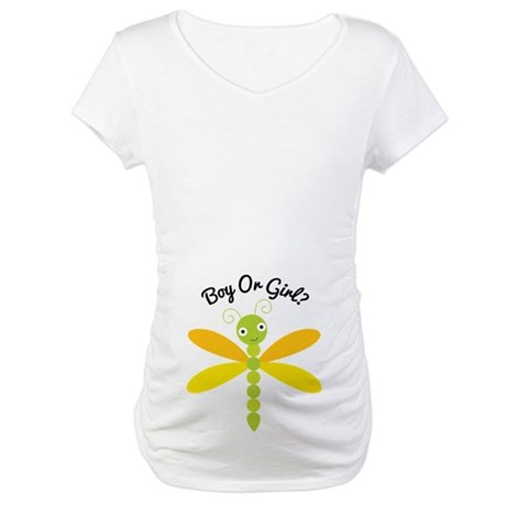 Boy or Girl Maternity Maternity T-Shirt