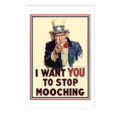 Uncle Sam I want YOU Postcards (Package of 8)