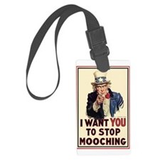 Uncle Sam I want YOU Luggage Tag