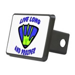 Live Long Rectangular Hitch Cover