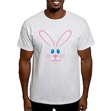 Pink Bunny Face T-Shirt