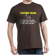 Hunting Rules T-Shirt
