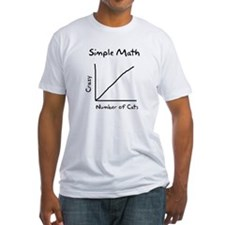 Simple math crazy number of cats Shirt