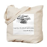 vinci_helico_cita_2000.png Tote Bag