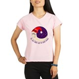 poker moon2 Peformance Dry T-Shirt