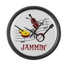 Jammin Large Wall Clock