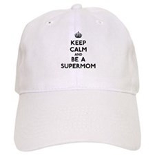 Keep Calm Supermom Cap
