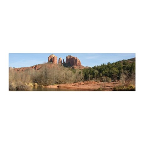 Cathedral Rock 20x6 Wall Decal