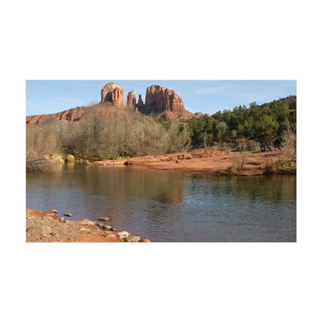 Cathedral Rock 35x21 Wall Decal