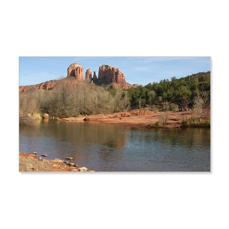 Cathedral Rock 20x12 Wall Decal