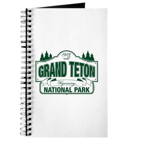 Grand Teton Green Sign Journal