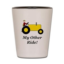 My Other Ride Yellow Shot Glass