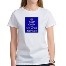 Keep Calm and See Your Advisor Tee