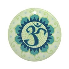 Cute Eastern philosophy Ornament (Round)