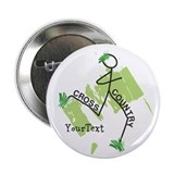 Customize Cute Cross Country 2.25&amp;quot; Button