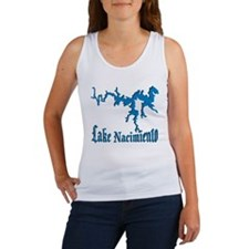 LAKE NACIMIENTO [4 blue] Women's Tank Top