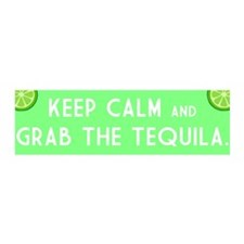 Grab The Tequila Wall Decal