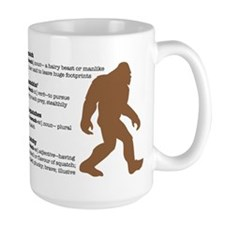 Definition of Bigfoot Ceramic Mugs