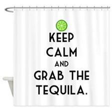 Grab The Tequila Shower Curtain