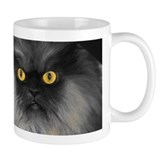 Colonel Meow's yellow eyes Small Mug