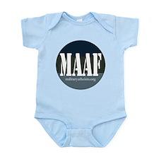 MAAF logo Infant Bodysuit