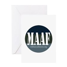 MAAF logo Greeting Card