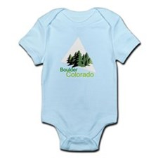 Boulder Colorado truck stop novelty tee Infant Bod