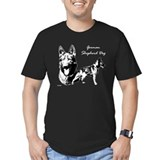 GSD on Black T-Shirt