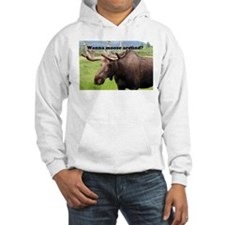 Wanna moose around? Alaskan moose Hoodie
