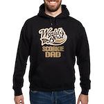 Scorkie Dog Dad Hoodie (dark)