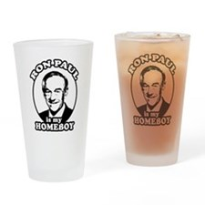 Cute Ron paul Drinking Glass