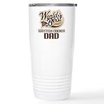 Scottish Cocker Dog Dad Ceramic Travel Mug